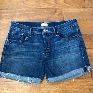 MOTHER denim shorts